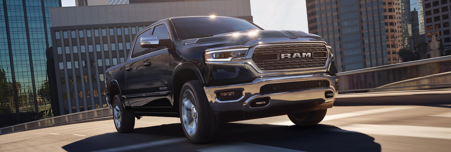 Picture of the 2020 RAM 1500 for lease at Spitzer CDJR Cleveland Ohio
