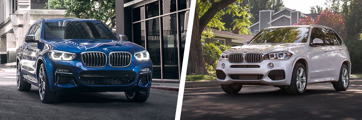The 2018 BMW X3 and BMW X5 are available at Hilton Head BMW