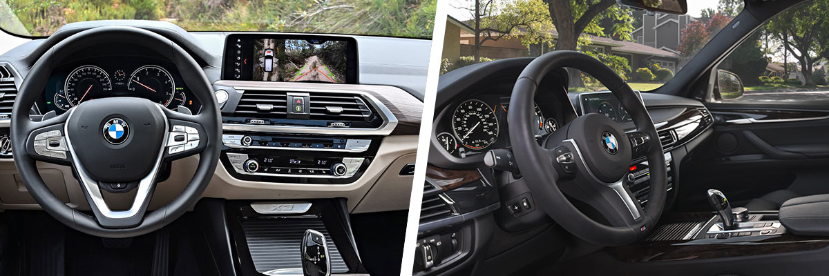 Safety features and interior of the 2018 BMW X3 and BMW X5 - available at Hilton Head BMW in Hilton Head near Bluffton, SC