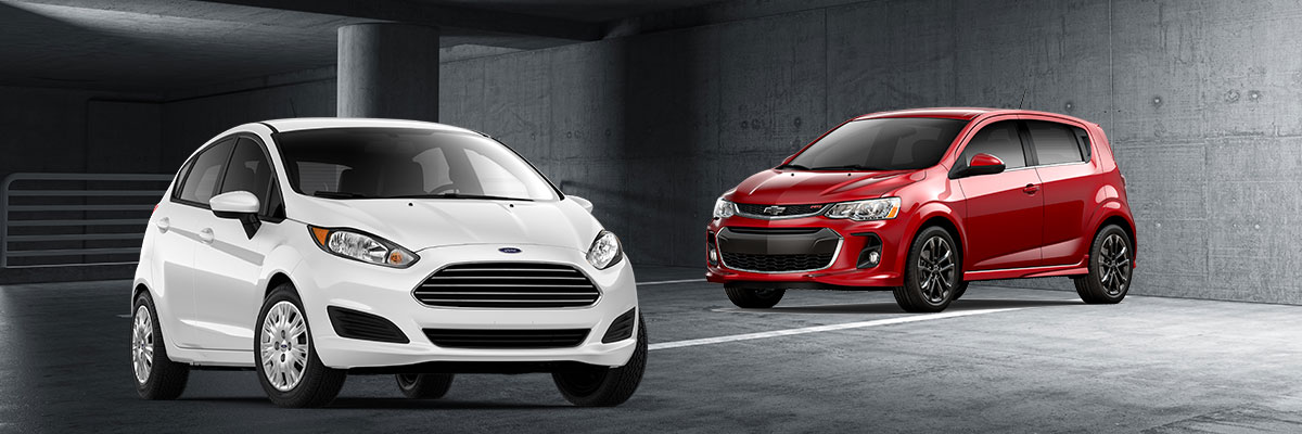 Compare: 2018 Ford Fiesta vs Chevy Sonic | Ford Dealer in ...