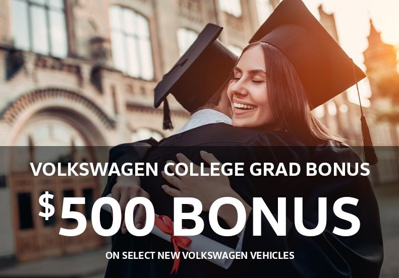 College Grad Bonus at Vista VW near Fort Lauderdale
