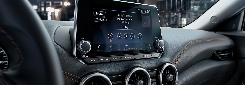 2021 Nissan Sentra NissanConnect display