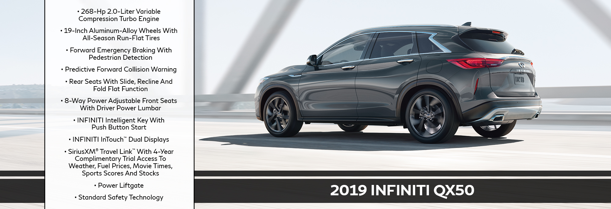 Experience The 2019 Infiniti Qx50 Orland Park Il