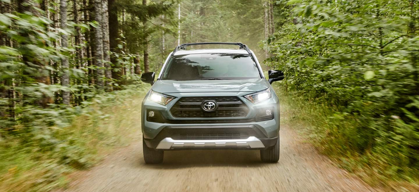 The 2019 Toyota RAV4 for sale at our Rountree Moore Toyota dealership in Lake City
