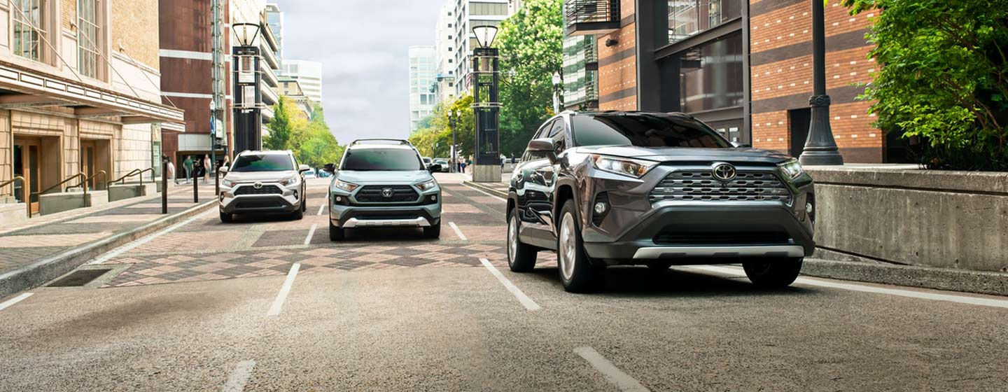 RAV4 Limited AWD driving