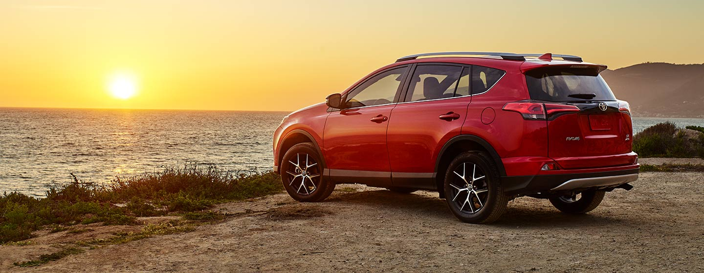 RAV4 Limited AWD parked