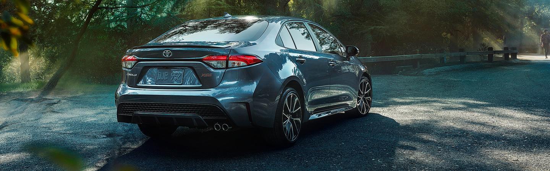 2020 Toyota Corolla turning