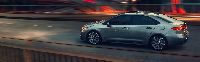 2020 Toyota Corolla in motion