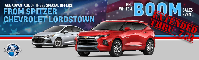 Spitzer Chevrolet Lordstown Savings