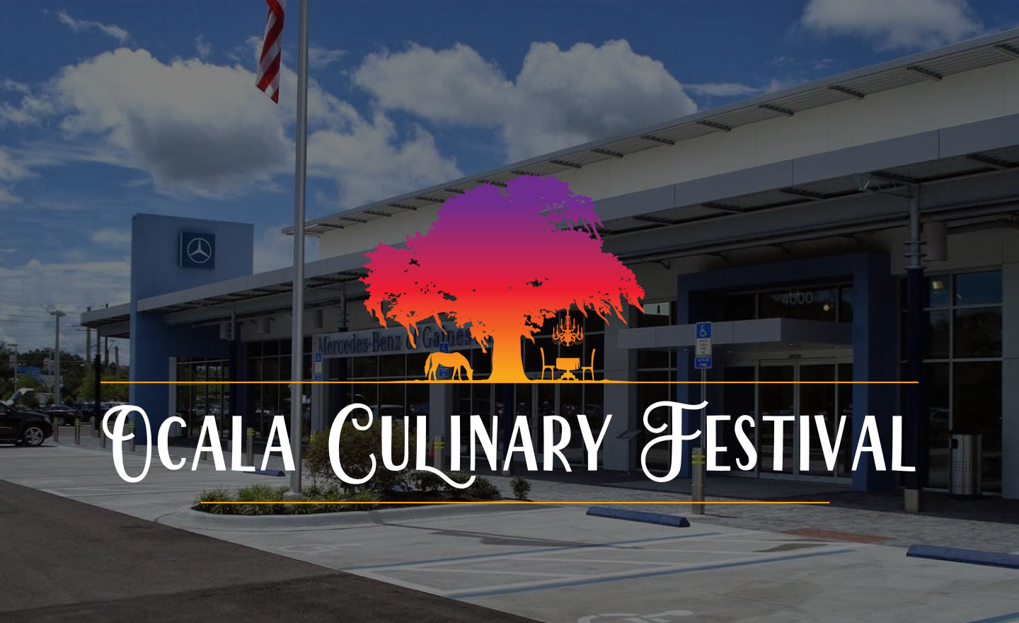 Mercedes-Benz of Gainesville dealership & sponsor of the Ocala Culinary Festival