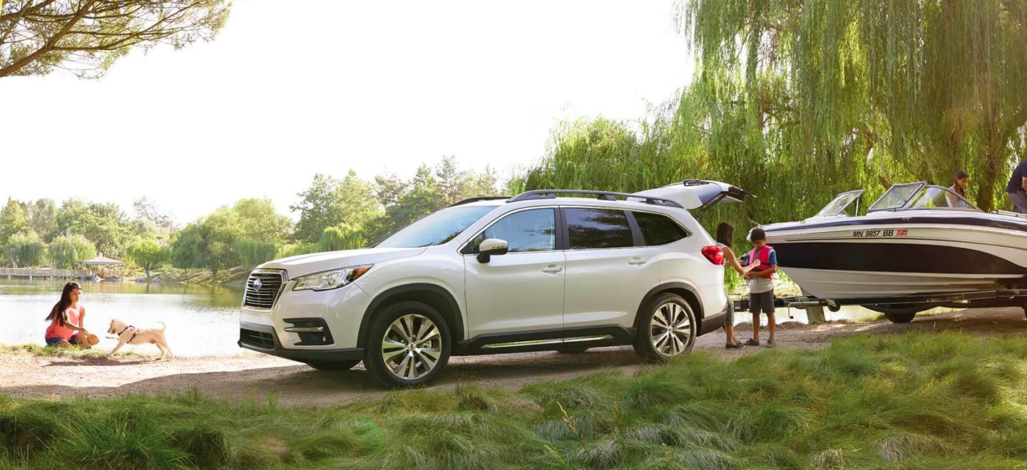 The 2019 Subaru Ascent is available at our Subaru dealership in Columbus, GA.