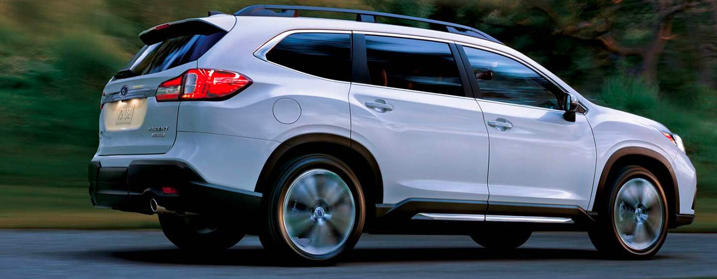 Exterior of the 2019 Subaru Ascent at Rivertown Subaru