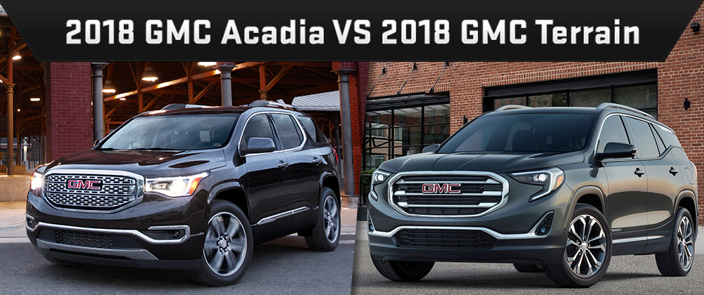 The 2018 GMC Acadia and 2018 GMC Terrain are available at Rivertown Buick GMC in Columbus, GA