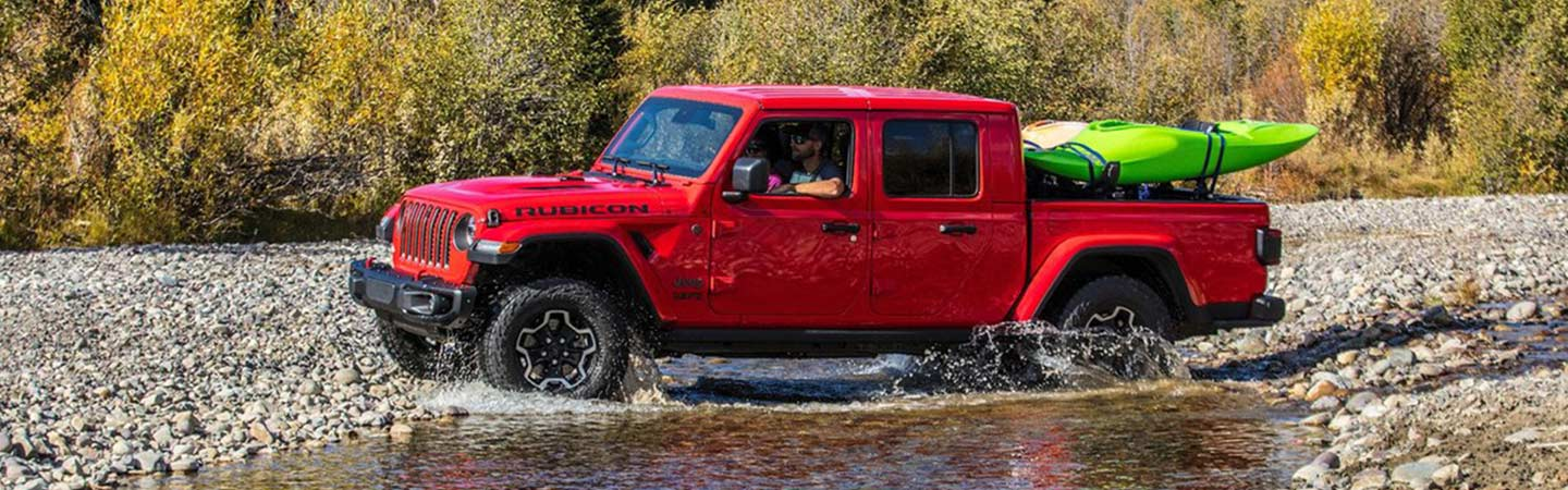 Jeep Gladiator Rubicon Exterior
