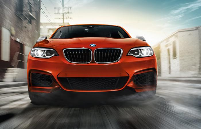 Front view of the 2020 BMW 2 Series