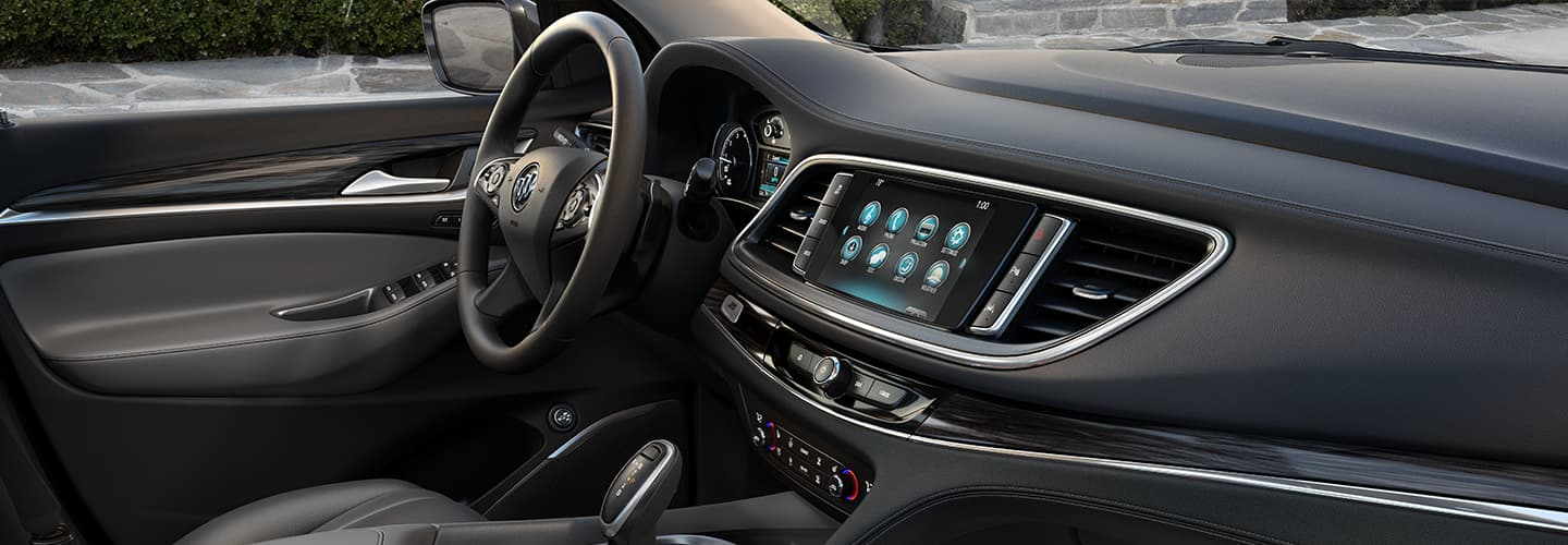 Interior of the 2019 Buick Enclave available at our Buick dealer in Columbus, GA.