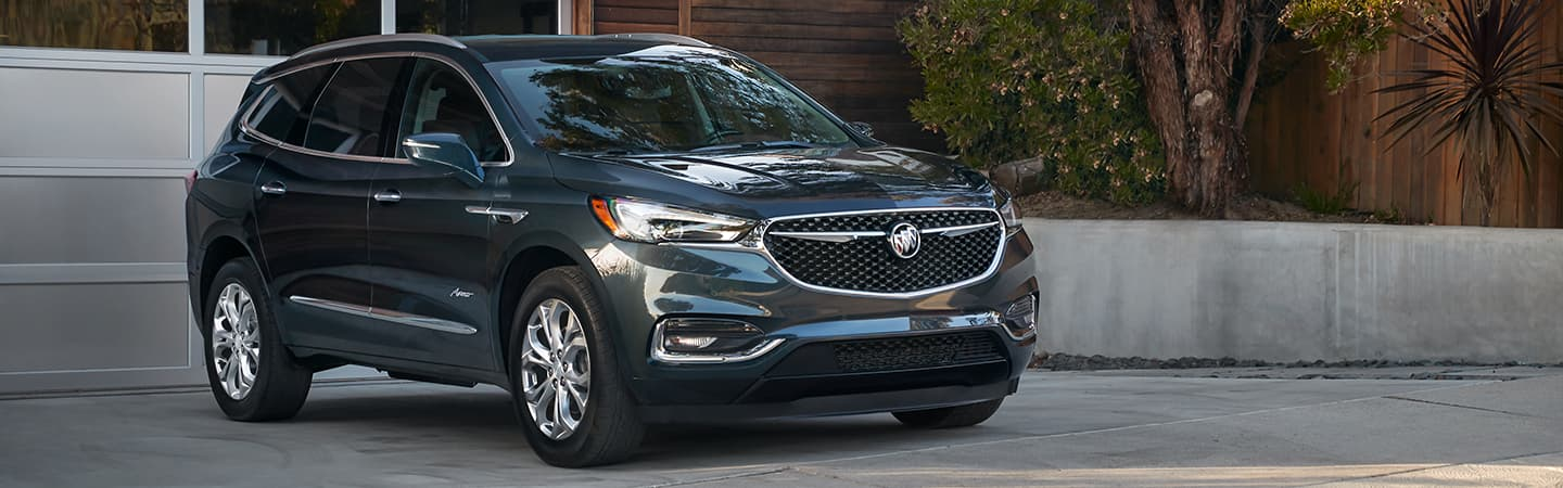 Exterior of the 2019 Buick Enclave at Rivertown Buick GMC