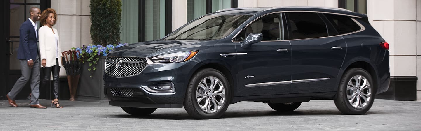 Exterior of the 2019 Buick Enclave in Columbus, GA