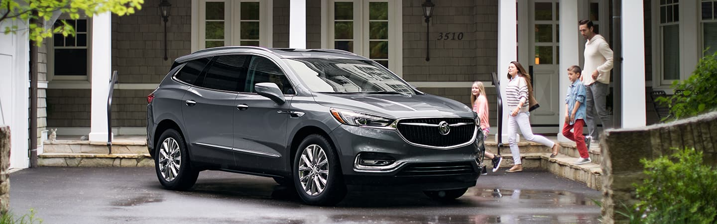 The 2019 Buick Enclave at our car dealership in Columbus, Rivertown Buick GMC