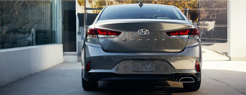 2019 Hyundai Sonata Exterior Behind