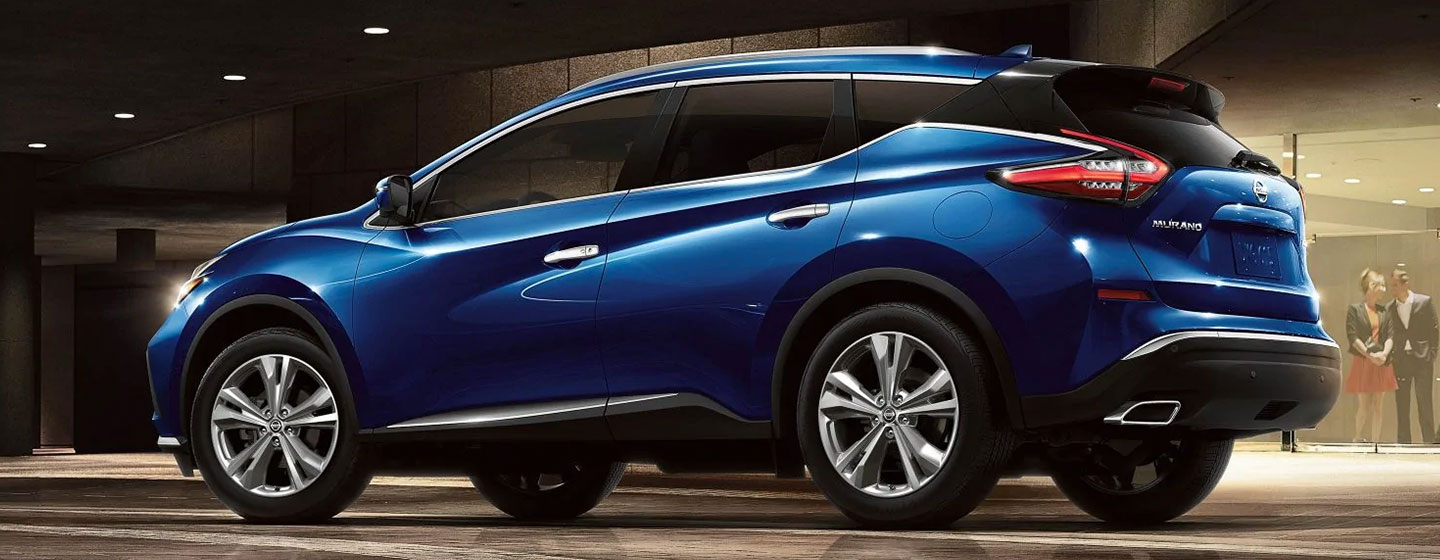 2019 Nissan Murano in motion