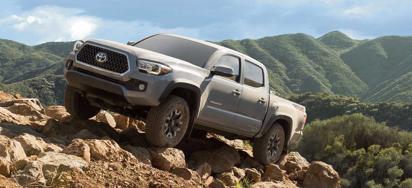 The 2019 Toyota Tacoma is available at our Toyota dealership in Columbus, GA.