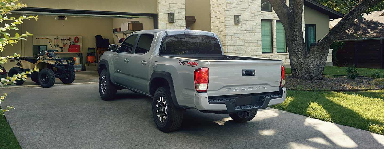 2019 Toyota Tacoma parked