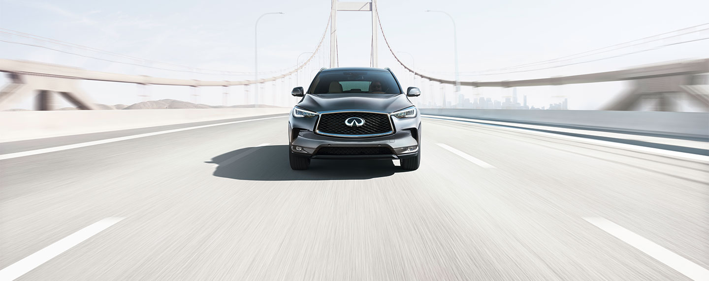 Front side of the 2019 INFINITI QX50