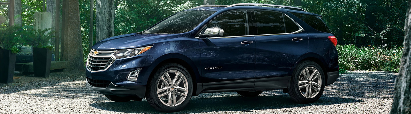 2020 Chevy Equinox at Spitzer Chevy in North Jackson Ohio