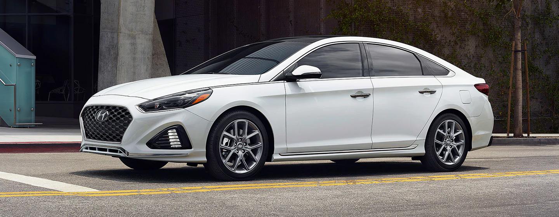 Exterior of the 2019 Hyundai Sonata for sale at our Hyundai dealership in Reno NV.