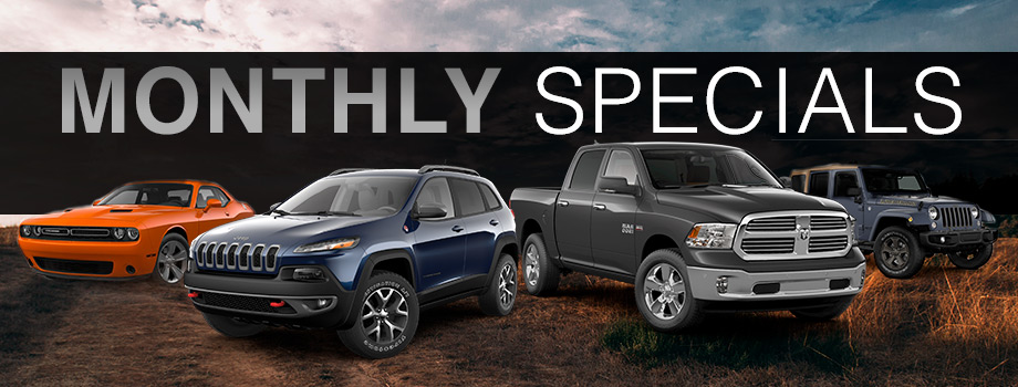 Exceptional New Vehicle Specials
