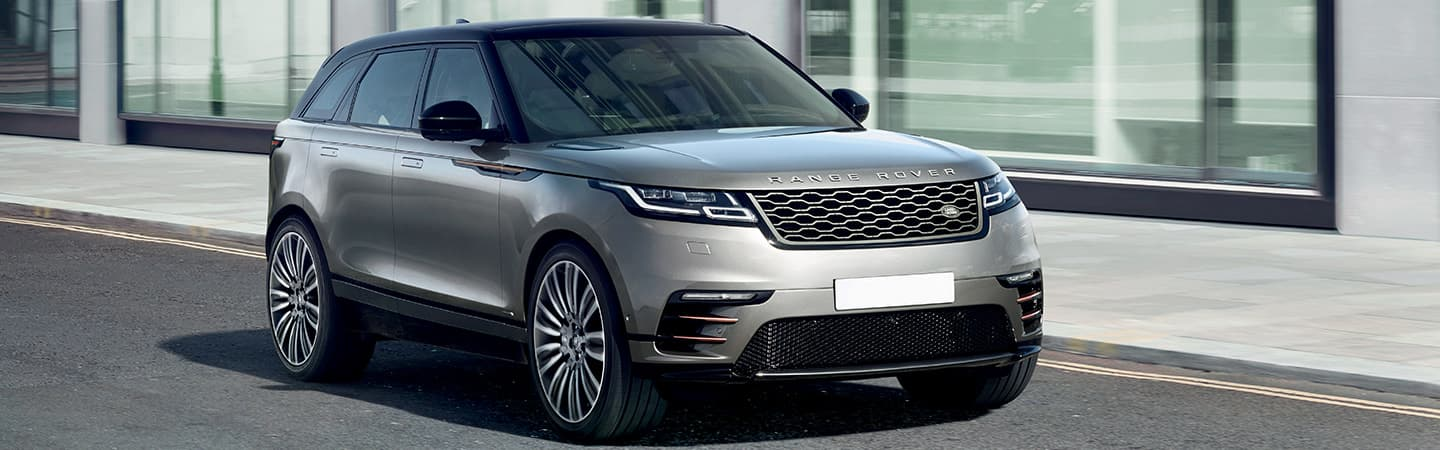 2019 Range Rover Velar in motion