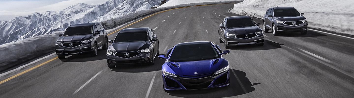 Spitzer Acura named Top Rated Dealer award.