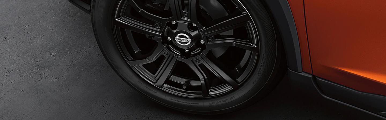 Close up of 2021 Nissan Kicks rim