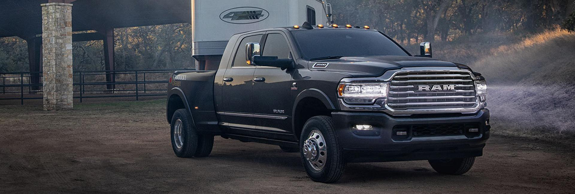 2020 Ram Heavy Duty Trucks towing a trailer
