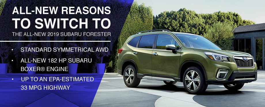 3 Reasons To Switch To The All New 2019 Forester Bob Moore Subaru