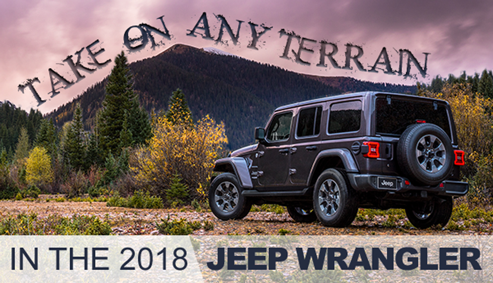 Southern Chrysler Jeep >> The 2018 Jeep Wrangler Southern Greenbrier Chrysler Jeep