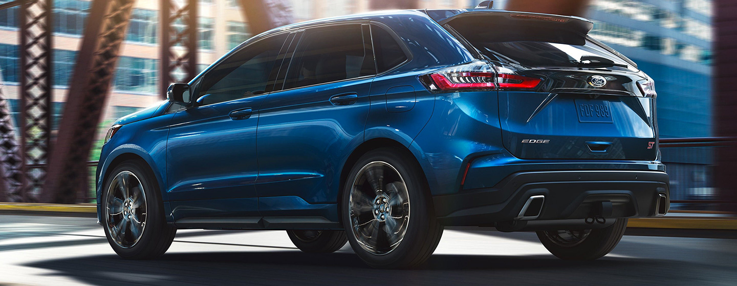Exterior of the 2019 Ford Edge - available at our Ford dealership near Oklahoma City, OK.