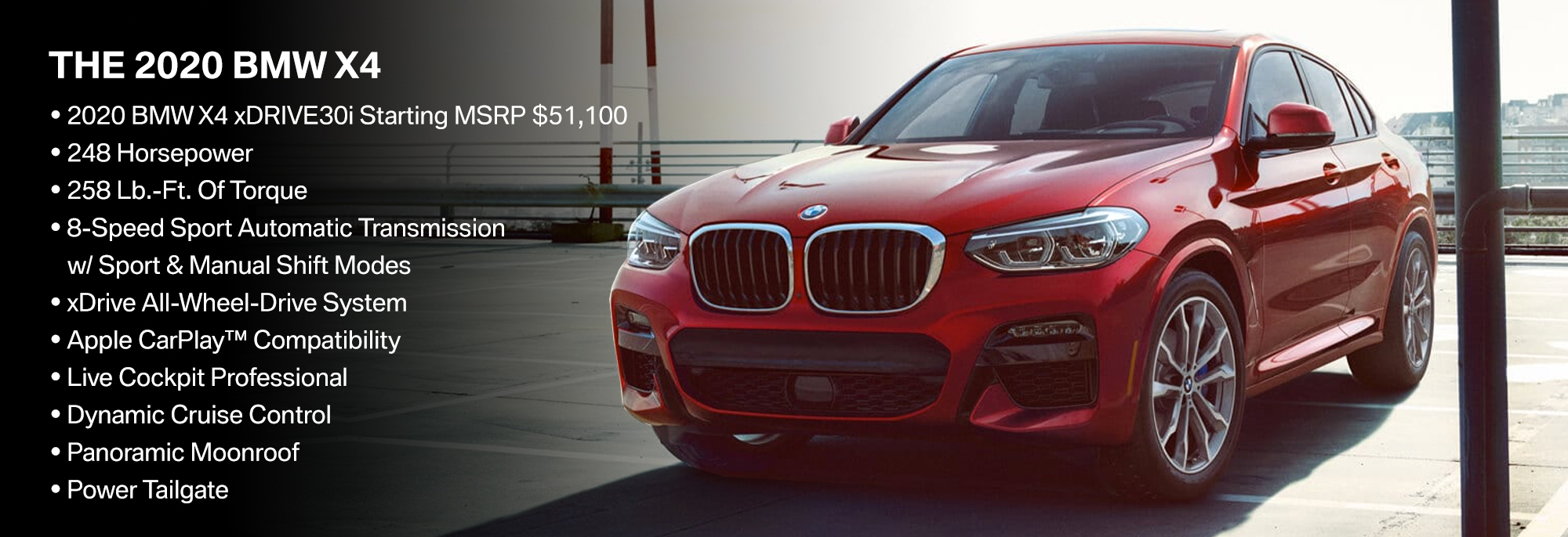 New 2019 BMW X4 Offer