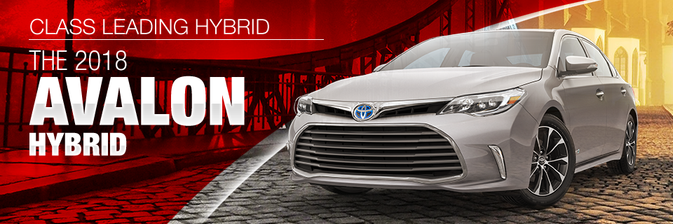 The 2018 Toyota Avalon Hybrid is available at Toyota of Tampa Bay in Tampa, FL