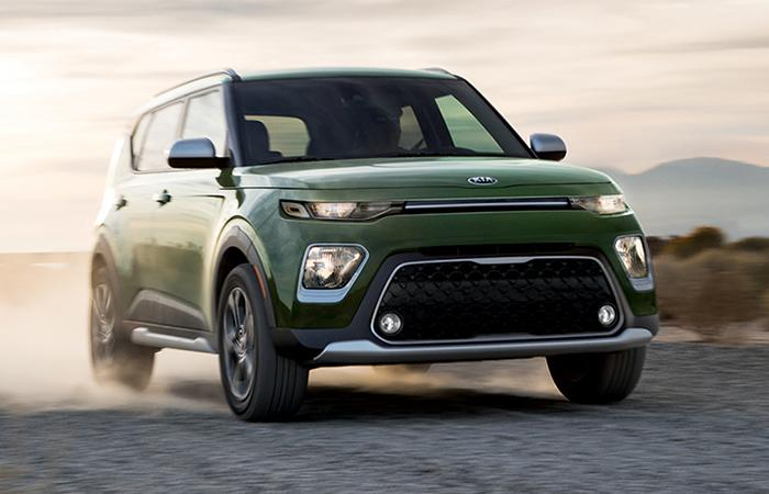 2020 Kia Soul In The Desert