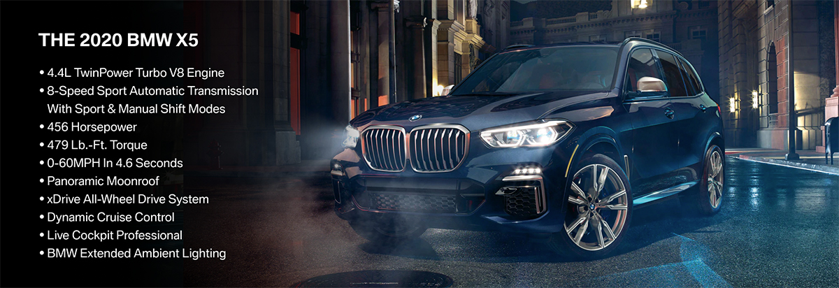 New 2020 BMW X5 Offer