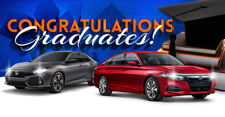 honda of gainesville graduate specials graduation