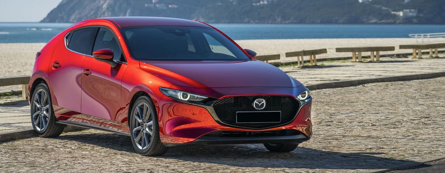 Mazda3 Exterior - On the Beach