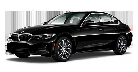 BMW 3 Series 330i - black