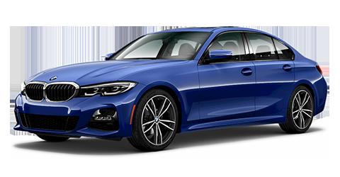 BMW 3 Series 330i xDRIVE - blue