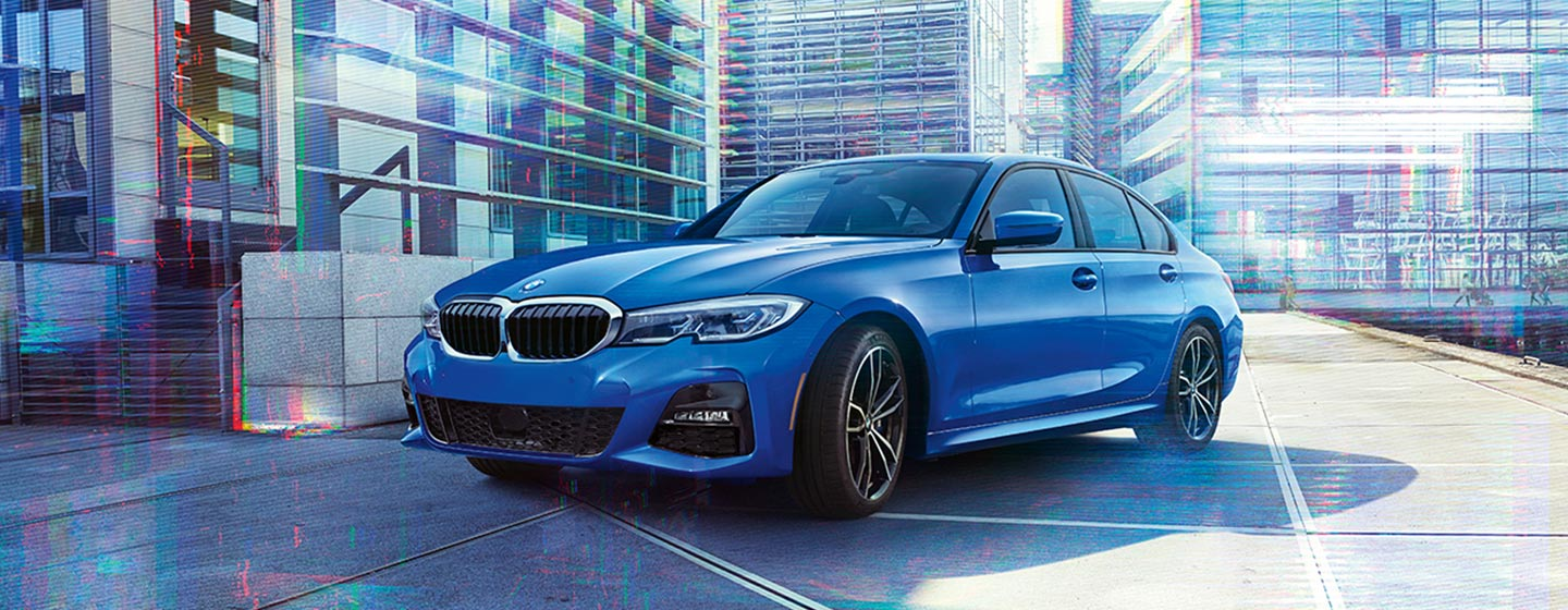 Exterior of the 2019 BMW 3 Series in Hilton Head, SC