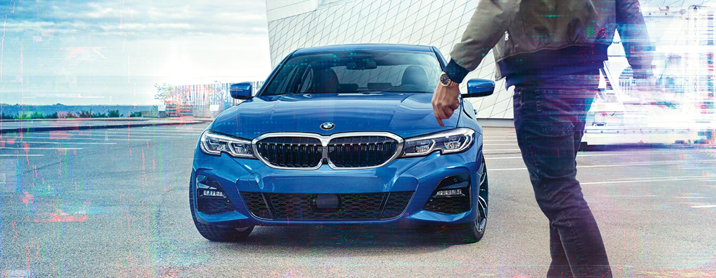 Exterior of the 2019 BMW 3 Series