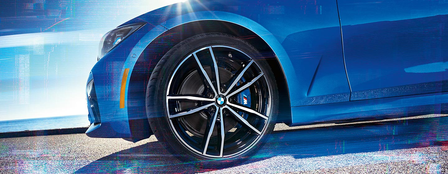 Exterior of the 2019 BMW 3 Series available at our BMW dealership in Hilton Head, SC