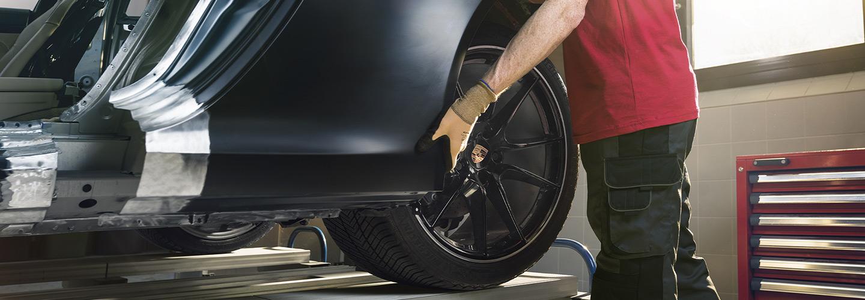 Auto parts installation available at Porsche Oklahoma City Parts Center